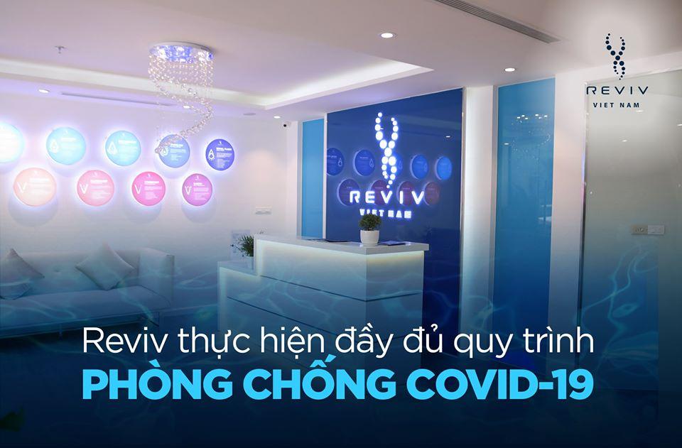 Reviv đảm bảo thực hiện đầy đủ khuyến nghị về phòng chống COVID-19